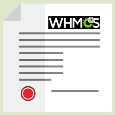 WHMCS LEGAL ADDON